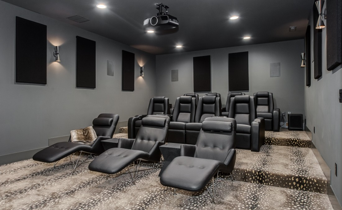 Theater Room Seating